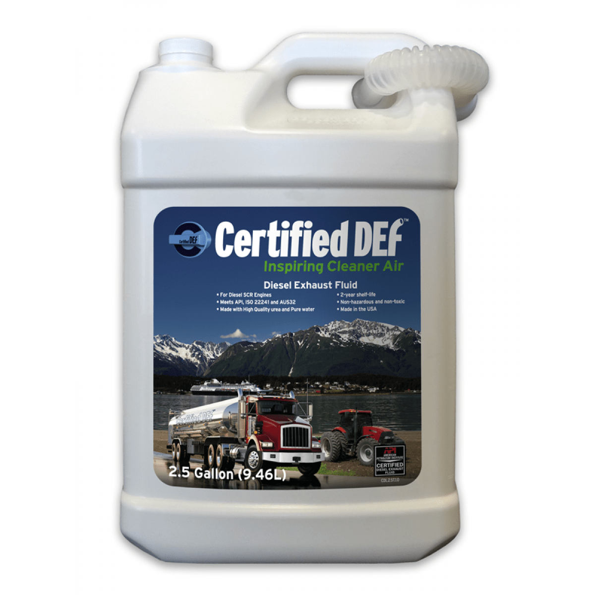 certified def diesel exhaust fluid 1 case afs associated fuel systems inc. Black Bedroom Furniture Sets. Home Design Ideas